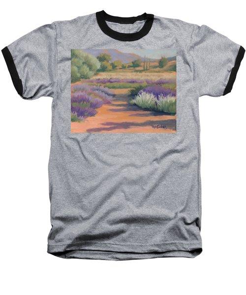 Under A Summer Sun In Lavender Fields Baseball T-Shirt