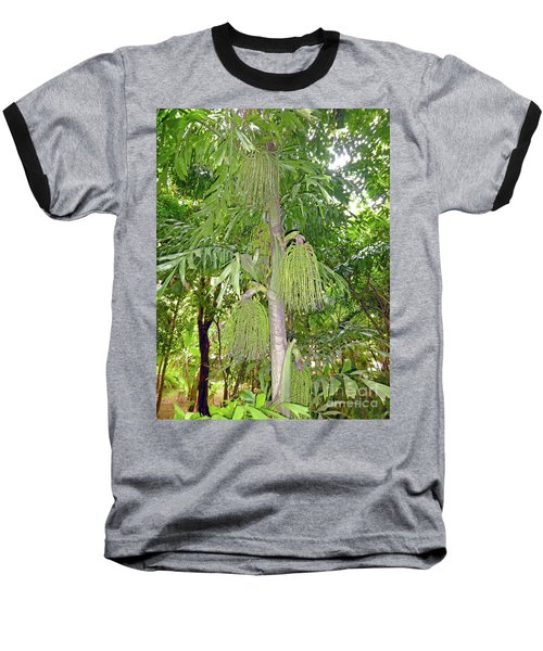 Baseball T-Shirt featuring the photograph Under A Tropical Tree by Francesca Mackenney