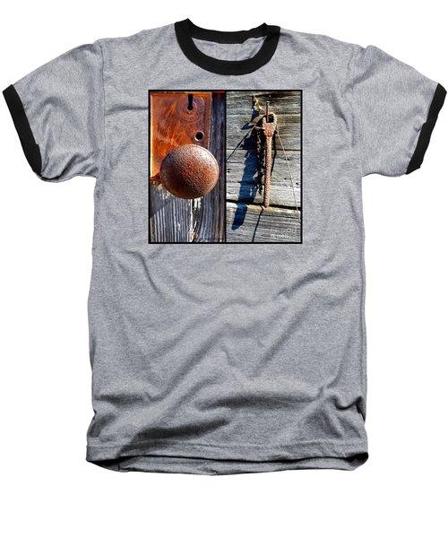 Under Lock And Key Baseball T-Shirt