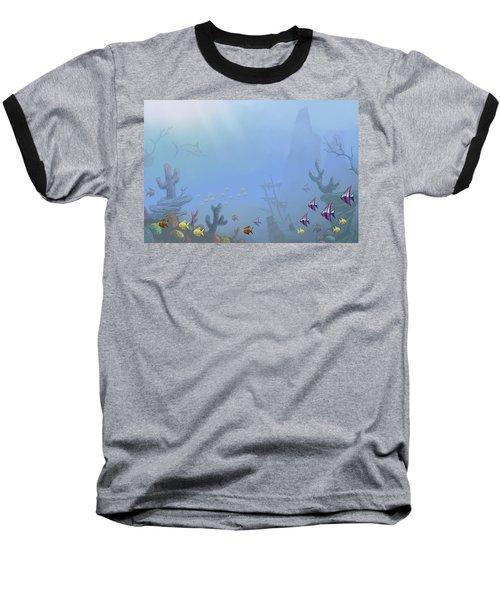 Under Sea 01 Baseball T-Shirt