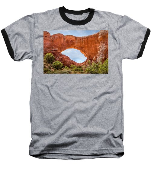 Baseball T-Shirt featuring the photograph Under The Arch by James Woody