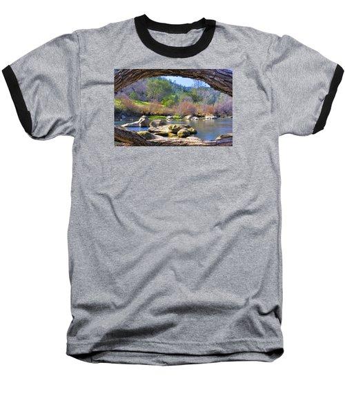 Under The Arch Baseball T-Shirt by Josephine Buschman