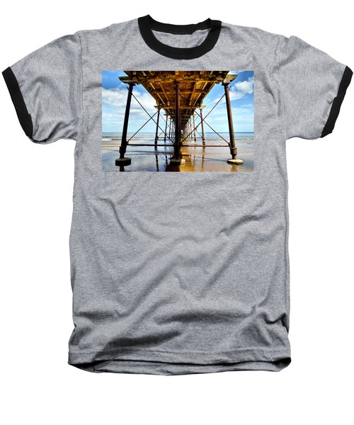 Under The Boardwalk Baseball T-Shirt