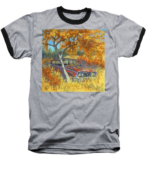 Under The Chinese Elm Tree Baseball T-Shirt
