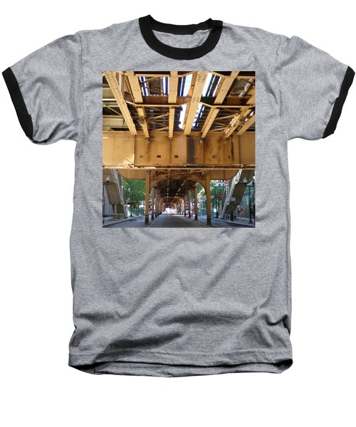 Under The El - 1 Baseball T-Shirt