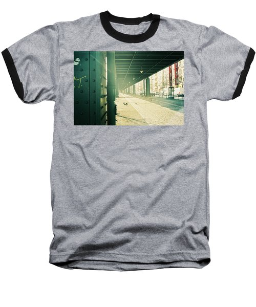 Under The Elevated Railway Baseball T-Shirt