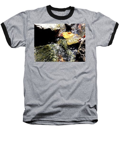Baseball T-Shirt featuring the photograph Under The Glass Of Water by Robert Knight