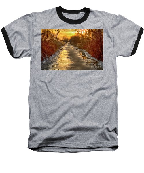 Under The Golden Sky Baseball T-Shirt