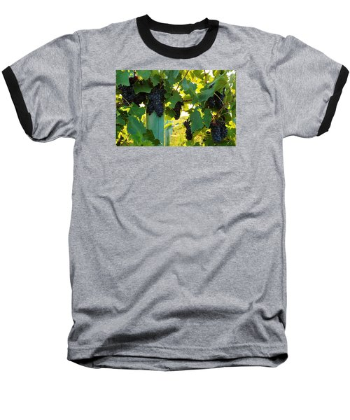 Baseball T-Shirt featuring the photograph Under The Leaves by Lynn Hopwood