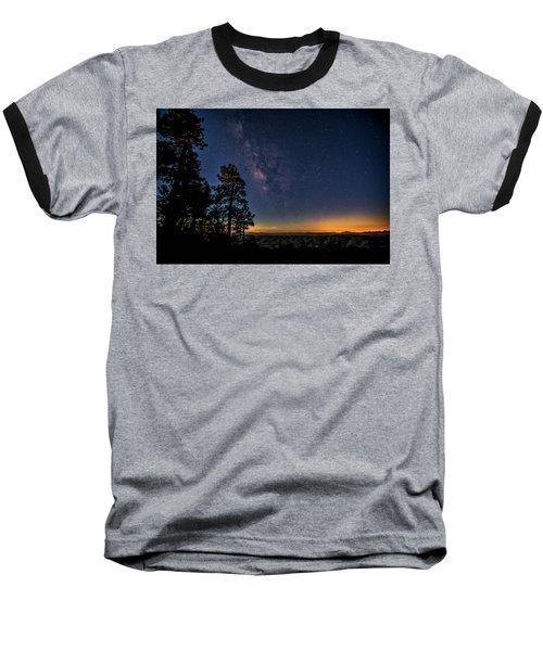 Baseball T-Shirt featuring the photograph Under The Milky Way  by Saija Lehtonen