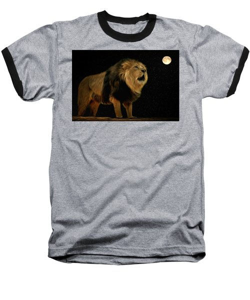 Under The Moon Baseball T-Shirt