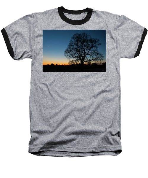 Baseball T-Shirt featuring the photograph Under The New Moon by Dana Sohr