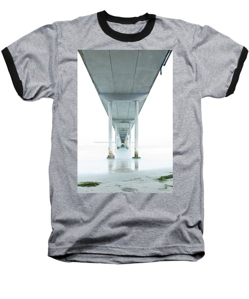 Under The Ocean Beach Pier Early Morning Baseball T-Shirt