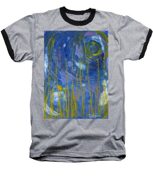 Under The Ocean Baseball T-Shirt by Rachel Hames