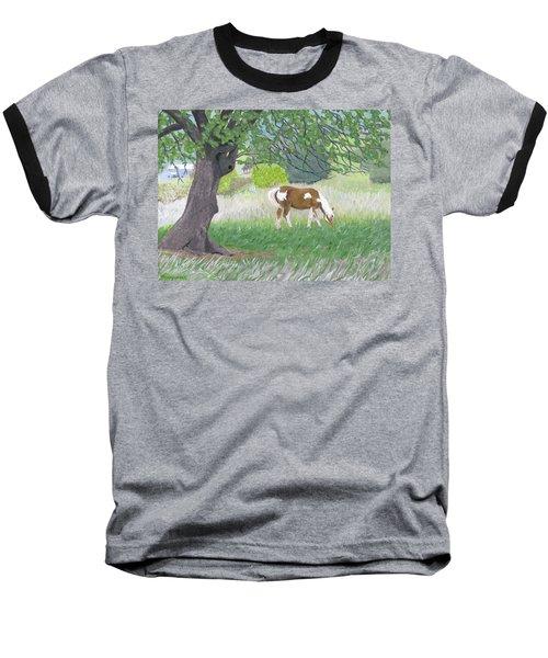 Under The Old Apple Tree Baseball T-Shirt