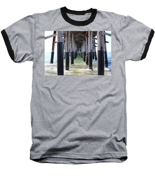 Under The Pier Baseball T-Shirt