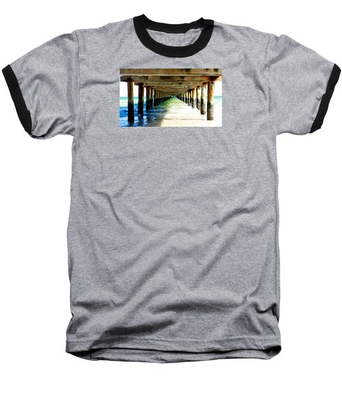 Anna Maria Island Pier Excellence In Photography Award 2016 Baseball T-Shirt by Margie Amberge