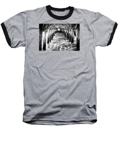 Pier - Myrtle Beach South Carolina Baseball T-Shirt