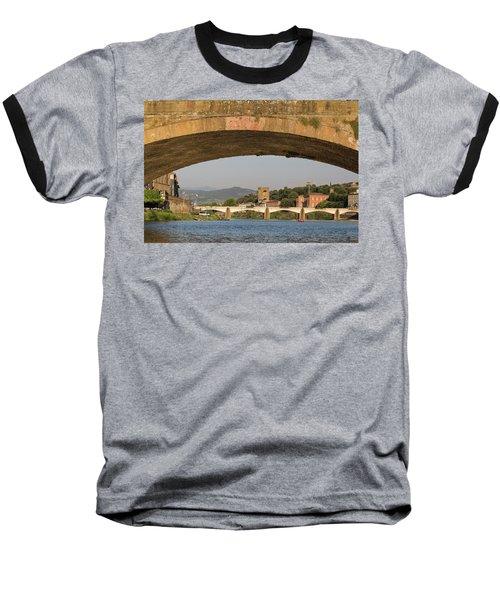 Under The Ponte Santa Trinita Baseball T-Shirt