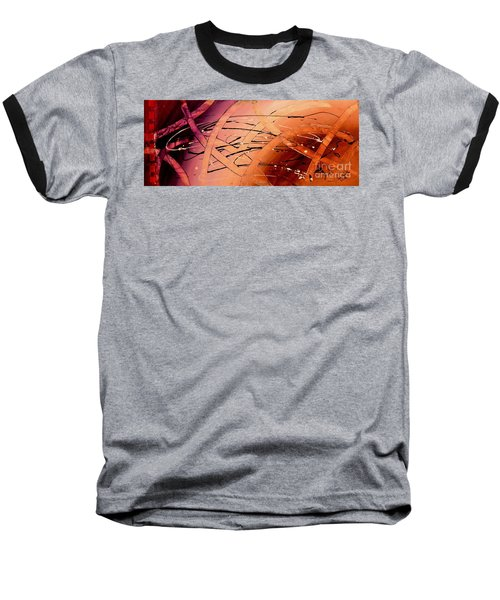 Under The Sea Abstract Modern Art By Saribelle Baseball T-Shirt