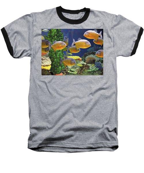 Under The Seen World 5 Baseball T-Shirt