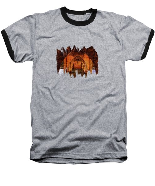 Baseball T-Shirt featuring the photograph Under The Siuslaw River Bridge by Thom Zehrfeld