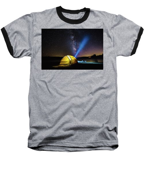 Under The Stars Baseball T-Shirt