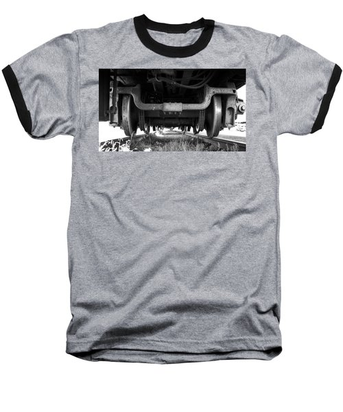 Under The Train Baseball T-Shirt