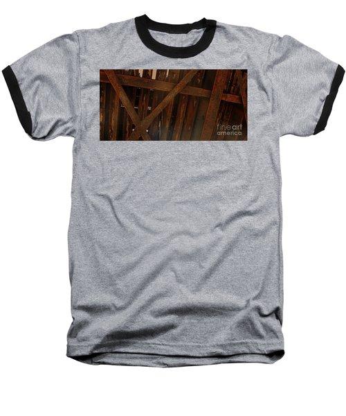 Under The Train Tracks Baseball T-Shirt