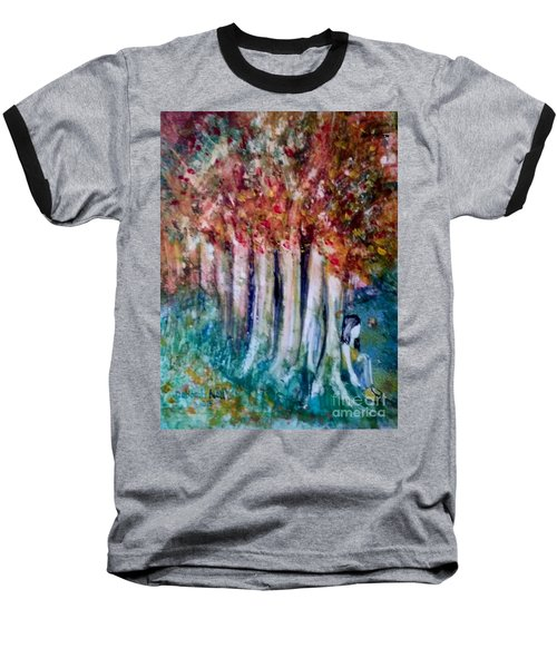Under The Trees Baseball T-Shirt