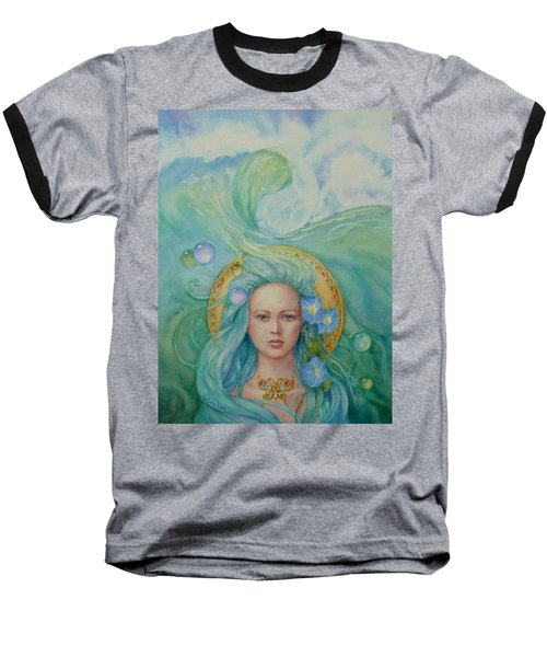 Under The Waves Baseball T-Shirt