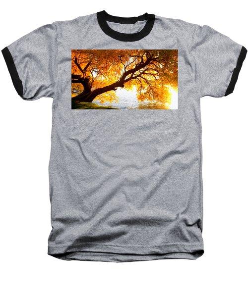 Under The Yellow Tree Baseball T-Shirt