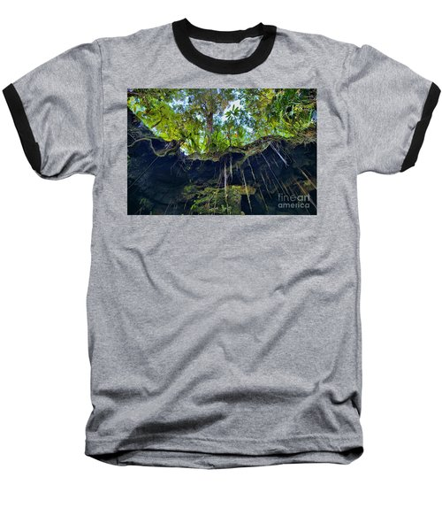 Baseball T-Shirt featuring the photograph Underground by DJ Florek