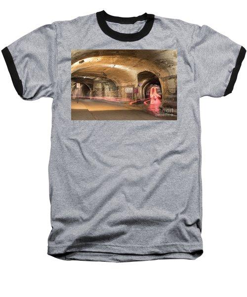 Underground Tunnels In Guanajuato, Mexico Baseball T-Shirt