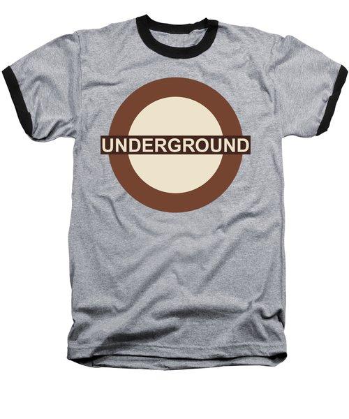 Underground75 Baseball T-Shirt by Saad Hasnain