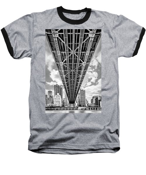 Underneath The Queensboro Bridge Baseball T-Shirt