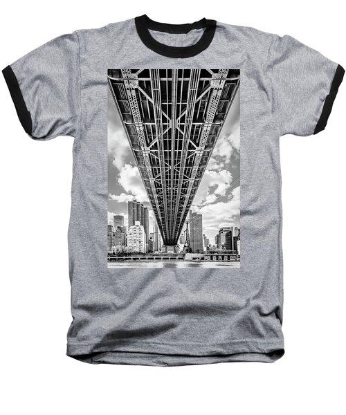Underneath The Queensboro Bridge Baseball T-Shirt