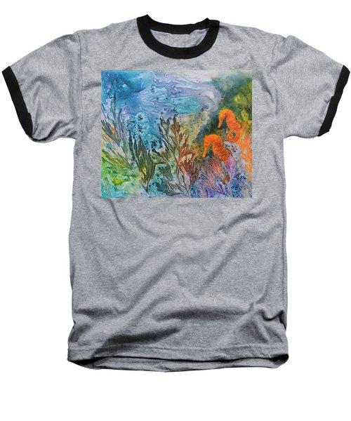 Undersea Garden Baseball T-Shirt