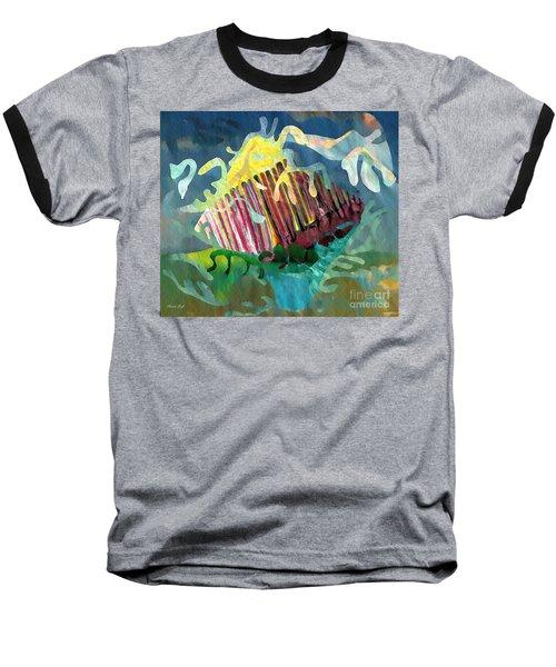 Undersea Still Life Baseball T-Shirt by Sarah Loft