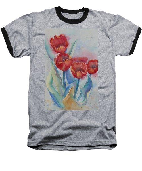 Undersea Tulips Baseball T-Shirt