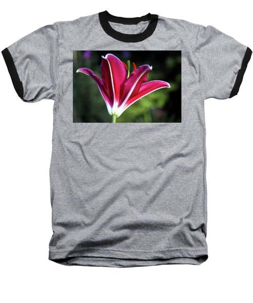 Underside Of Asiatic Tiger Lily 1653 H_2 Baseball T-Shirt