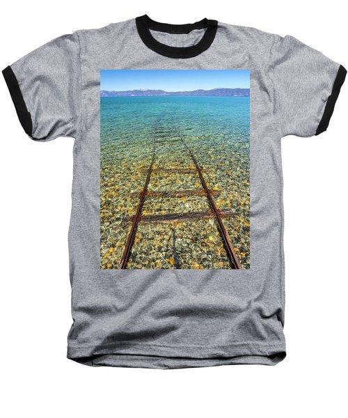 Underwater Railroad Baseball T-Shirt