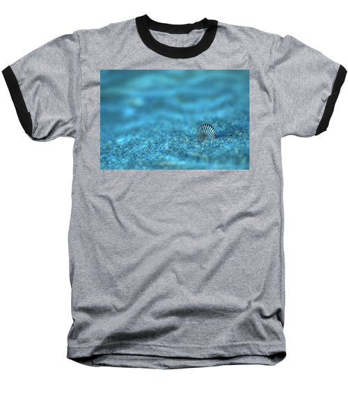 Underwater Seashell - Jersey Shore Baseball T-Shirt