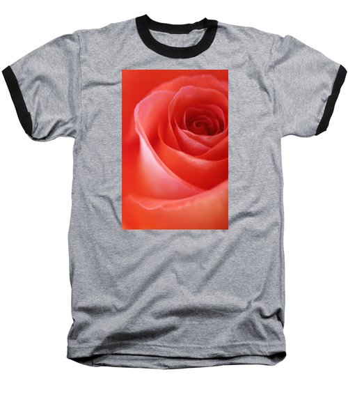 Une Rose Si Belle Baseball T-Shirt by The Art Of Marilyn Ridoutt-Greene