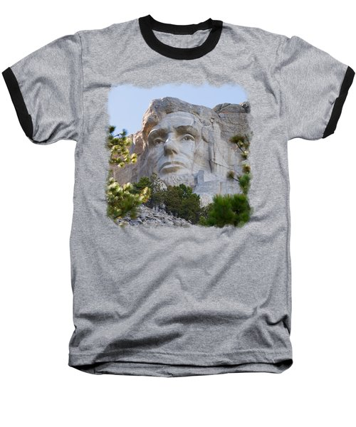 Unfinished Lincoln 3 Baseball T-Shirt by John M Bailey