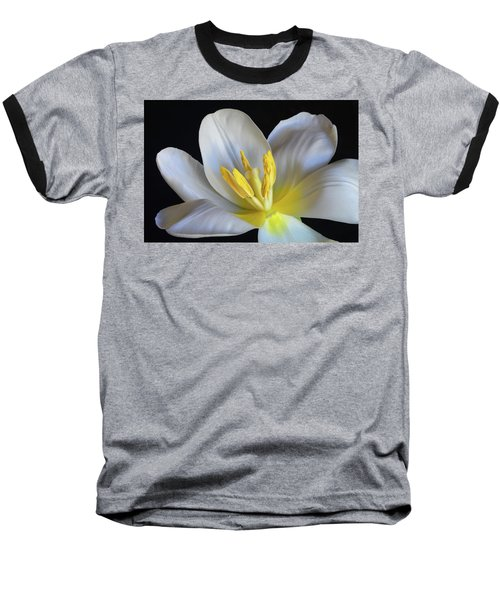 Unfolding Tulip. Baseball T-Shirt