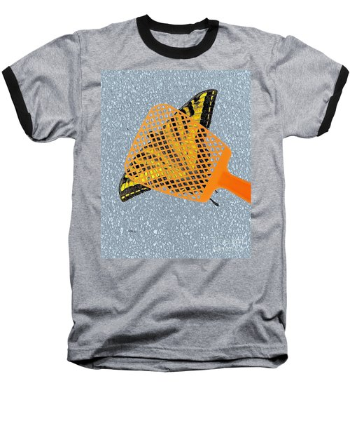 Baseball T-Shirt featuring the digital art Unforgiveable by Patrick Witz