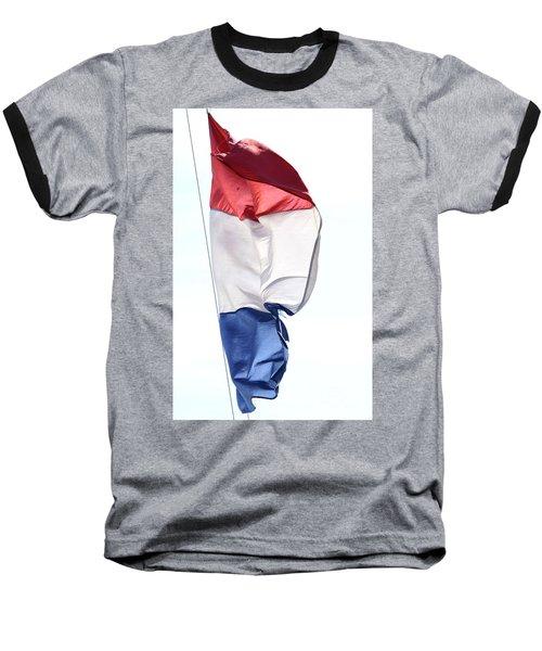 Baseball T-Shirt featuring the photograph Unfurl 01 by Stephen Mitchell