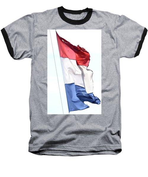 Baseball T-Shirt featuring the photograph Unfurl 02 by Stephen Mitchell