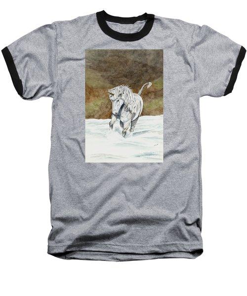 Unicorn Icelandic Baseball T-Shirt